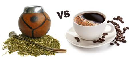 Yerba mate vs kawa