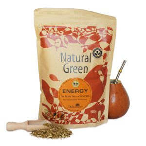 Yerba Mate Natural Green Guarana 500gYerba Mate Natural Green Guarana 500g
